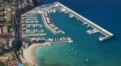 Port Adriano aerial view