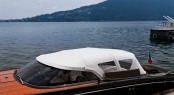 Riva Iseo day cruiser yacht of 27 feet with the new OPAC retractable hood