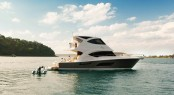 Riviera's 53 Enclosed Flybridge will make her American debut at the 2011 Fort Lauderdale International Boat Show