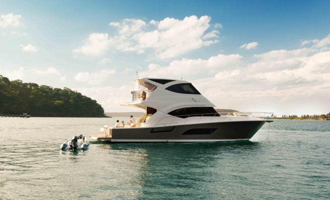 ... the 5000 Sport Yacht, 5800 Sport Yacht, and the new 43 Open Flybridge.