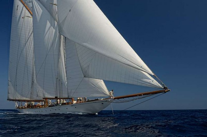 Sailing yacht Elena - Photo Credit Alessandro Spiga YCCS