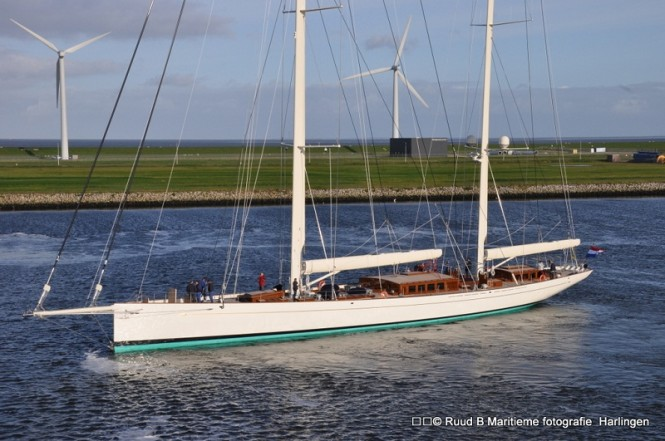 Sailing yacht Kamaxitha (The Spirit of Tradition Ketch) by Royal Huisman and ...