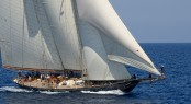 Sailing yacht Mariette of 1915 - Photo Credit Alessandro Spiga YCCS