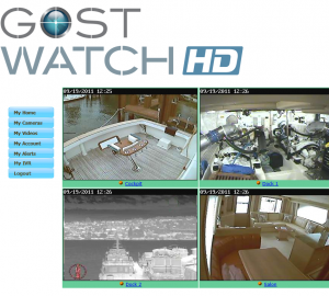See onboard yachts Via Smartphone or PC With The New GOST™ Watch HD System