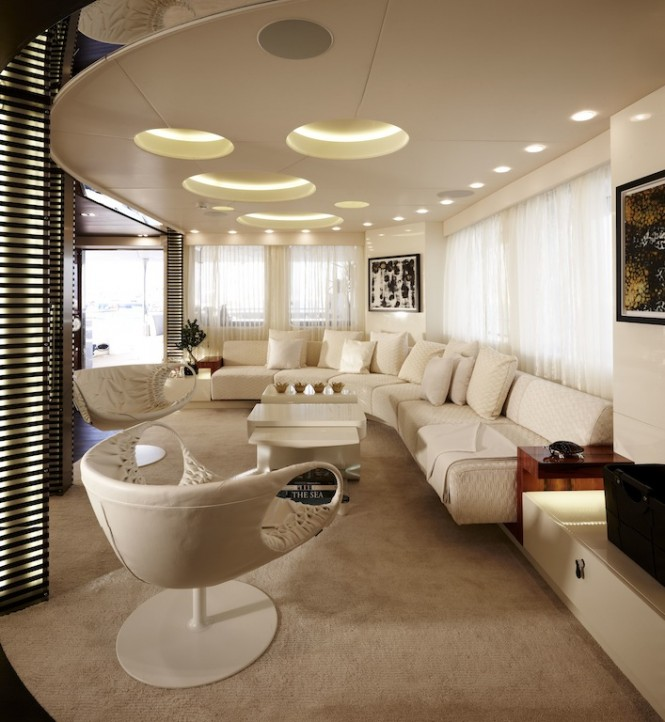 Art Line Yacht Interior Design : My e — luxury yacht charter superyacht news