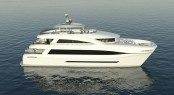 Superyacht Quaranta - the largest carbon hybrid composite power catamaran in the world