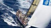 Swan 90 Sailing yacht DSK Wins Maxi Yacht Rolex Cup 2011 &Acirc;&copy; Rolex  &amp; Carlo Borlenghi 2011