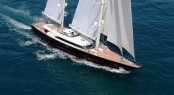 The 56 metre superyacht FIDELIS by Perini Navi
