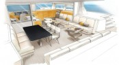 The Catana 59 Catamaran Interior Design