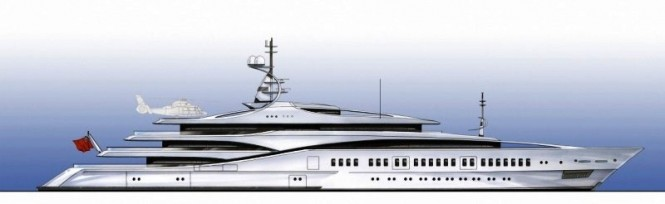The Devonport ONE TEN Superyacht Design concept
