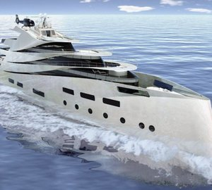 The IPI 90 superyacht concept by Impossible Productions Ink LLC and Vuyk Engineering Groningen B.V.
