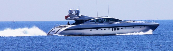 The Mangusta 130 - The Dream Tim II Yacht sister ship called Awesome - Image by LiveYachting