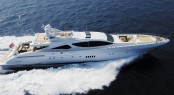 The Mangusta 130 performance luxury motor yacht by Overmarine