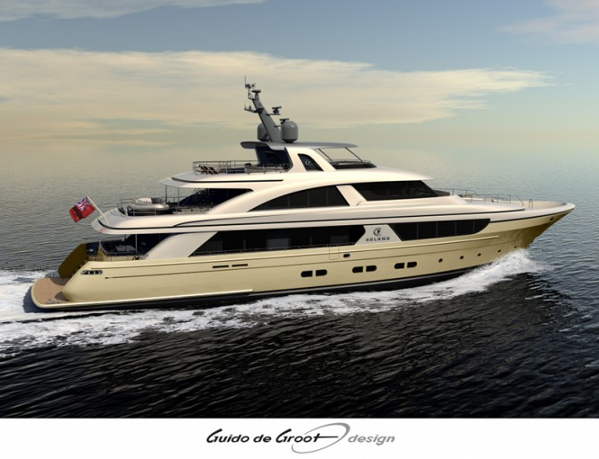 The Selene 128 motor yacht – An Ocean Explorer Yacht by Guido De Groot Design