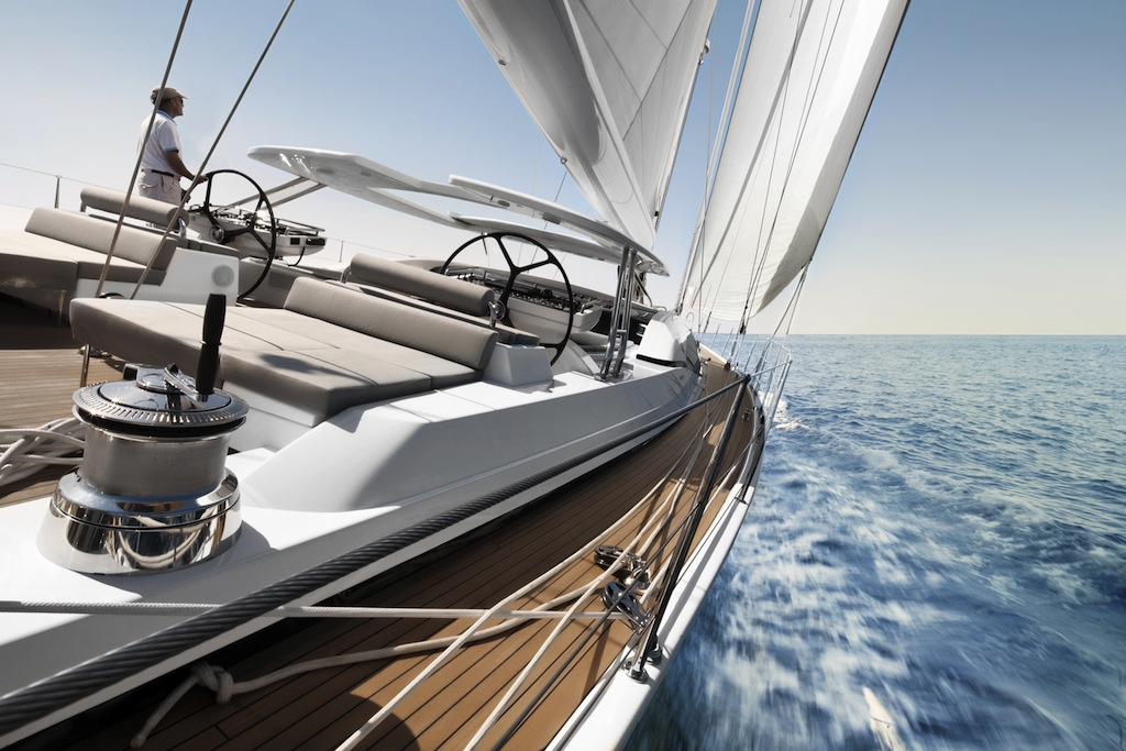 The first Oyster 100 Sailing Yacht SARAFIN completes her sailing trials
