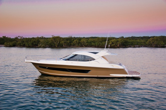 The new 44000 Sport Yacht Series II features more power, more style, ...