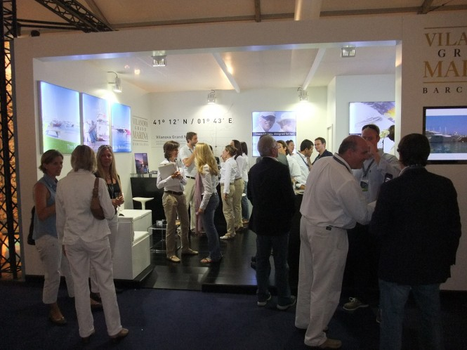 Vilanova Grand Marina Barcelona-Stand at Monaco Yacht Show 2010