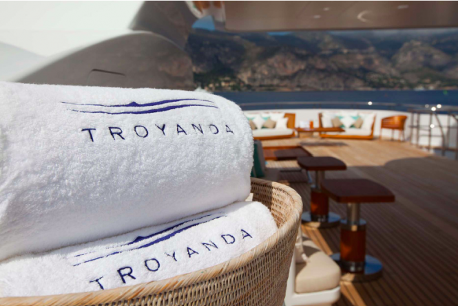 Troyanda Superyacht - new interior design and restyling by Design and Style Ltd - Photographer: Marc Paris