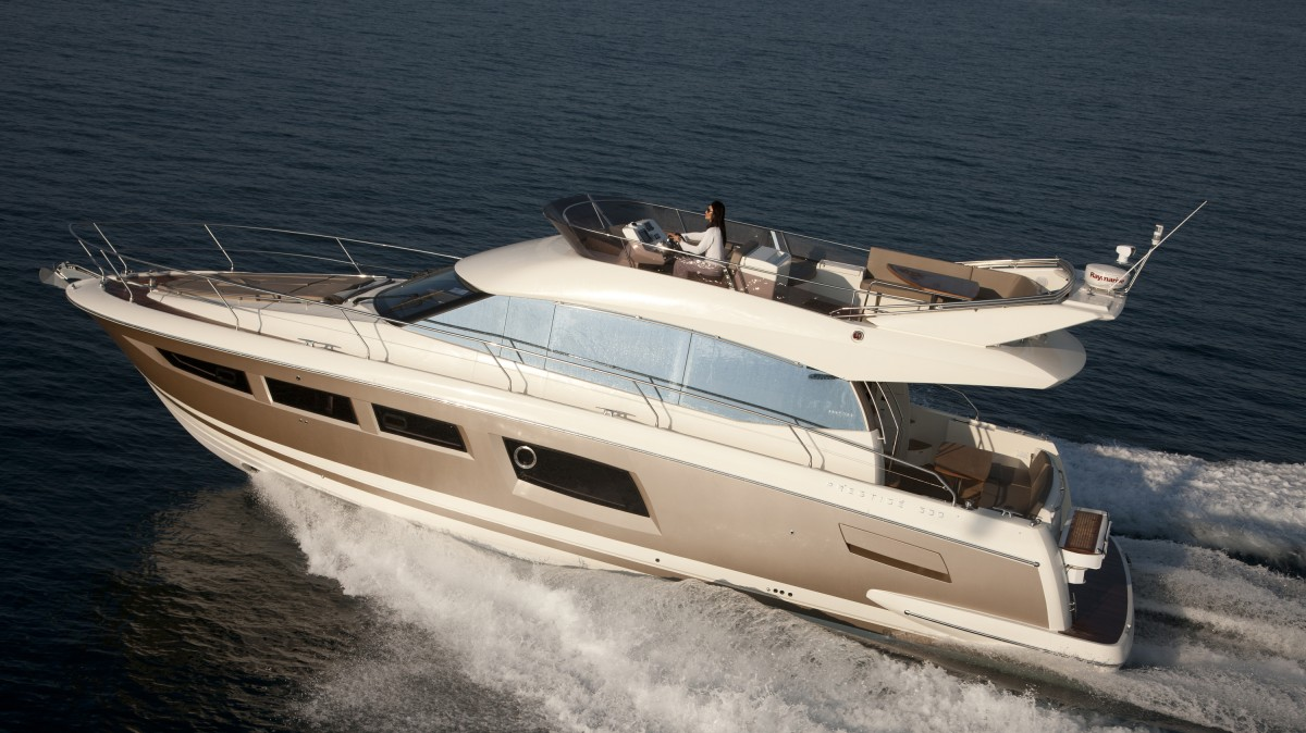 2011 Nautical Design Awards Prestige 500 Motor Yacht Wins