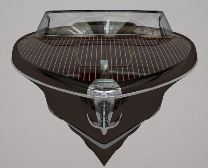 27ft yacht tender Iseo by Riva
