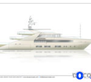 47m motor yacht Lustroso design by Docq Concepts