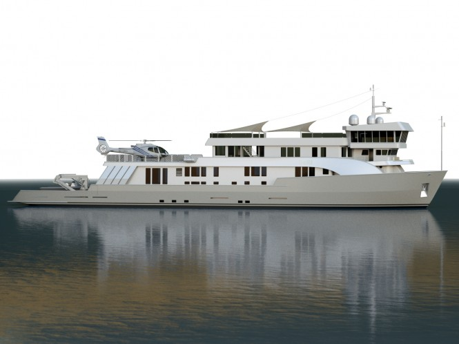 52m Expedition Yacht SuRi to undergo refit and extension to 63m
