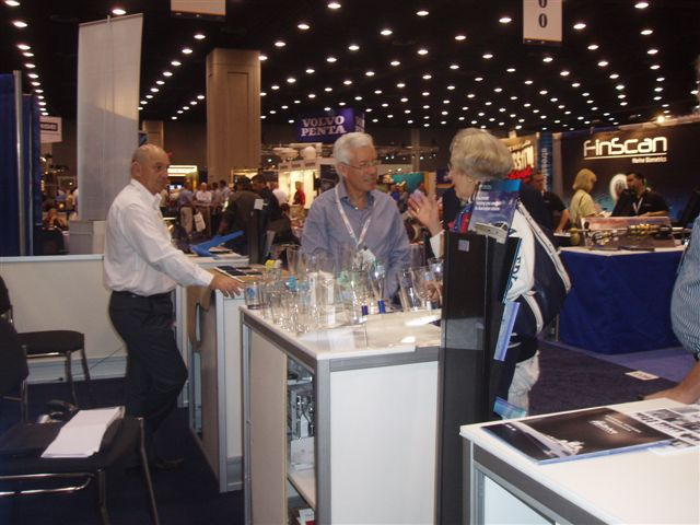 AIMEX stand at IBEX 2011