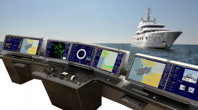 Amels 199 Superyachts to feature Synapsis Bridge Controls - Credit Raytheon Anschütz