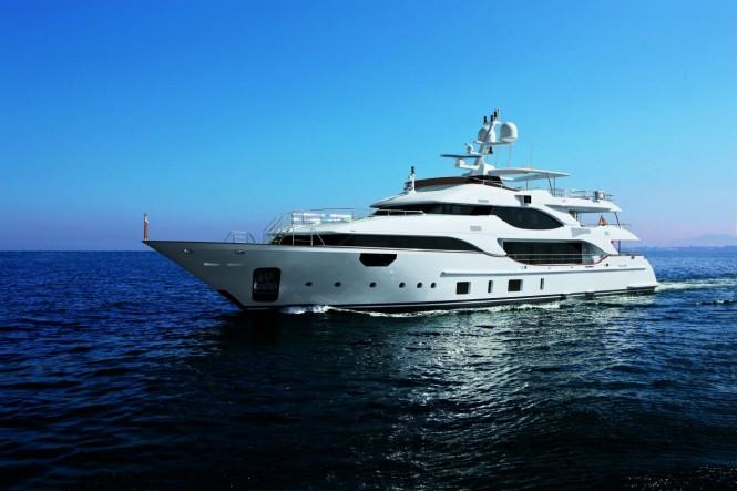 Benetti superyacht Crystal 140
