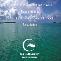 Centek to Launch Genset Pollution Control Guide at IBEX 2011
