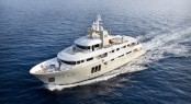 Charter superyacht E&E by Cizgi Yachts and Vripack with interior by Art-Line Interiors - Aerial View