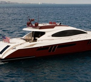 Charter yacht AWOL delivered – a LSX 78 series motor yacht by Lazzara