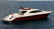 Charter yacht AWOL delivered  a LSX 78 series motor yacht by Lazzara - Credit Lazzara
