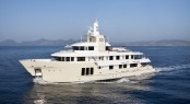 Cizgi Yachts constructed expedition charter yacht E&amp;E designed by Vripack with interior by Art-Line Interiors