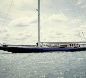 Classic sailing yacht Endeavour launched after 18 month refit
