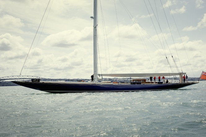 Classic sailing yacht Endeavour launched after 18 month refit at Yachting Developments