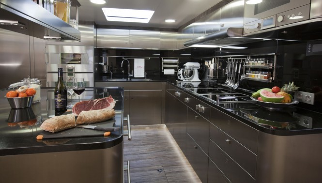 Dubois Sailing yacht Zefira - Galley