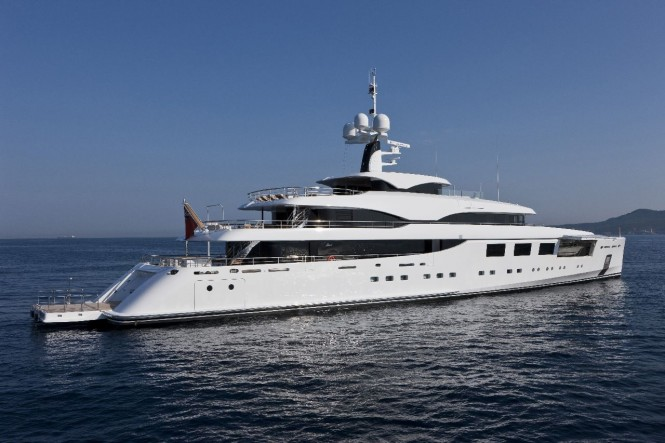 65m Benetti motor yacht Nataly wins Nautical Design Award