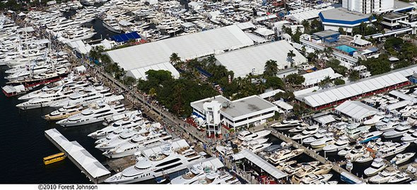 Fort Lauderdale International Boat Show Credit Forest Johnson