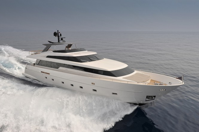 Francesco Paszkowski designed superyacht SL94 by Sanlorenzo