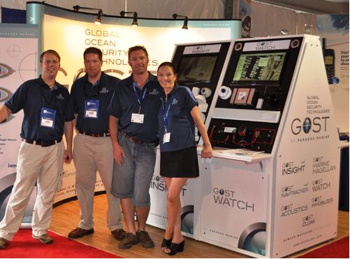 GOST executive team at Fort Lauderdale International Boat Show 2010