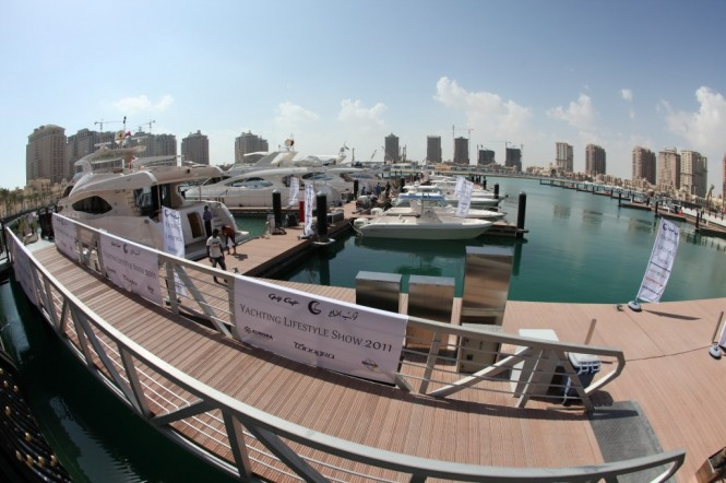 Gulf Craft's Yachting Lifestyle Show 2011 - Qatar
