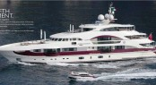 Heesen Motor Yacht Quinta Essentia available for luxury yacht charters in the Mediterranean