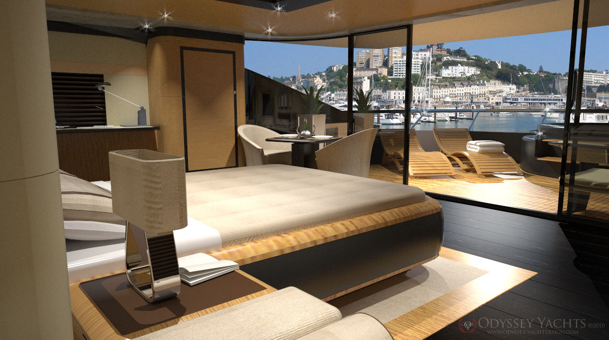 Interior Of The New Odyssey Yacht Design Superyacht Veloce
