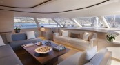 Interior design of the sailing yacht TWIZZLE