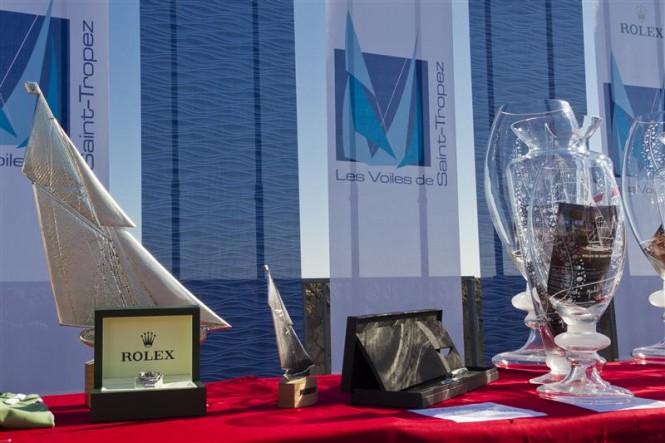 Les Voiles de Saint-Tropez Prize giving Photo By Rolex  Carlo Borlenghi
