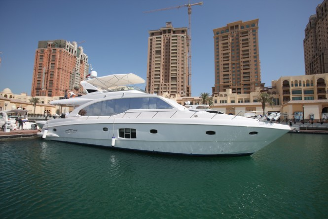 Majesty 70 Motor yacht by Gulf Craft