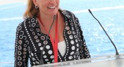 Marina Port Vell, 2011 Monaco Yacht Show Press Conference, Norma Trease, Director of Sales & Marketing