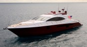 Motor yacht AWOL – a LSX 78 series motor yacht by Lazzara - Photo Credit Lazzara