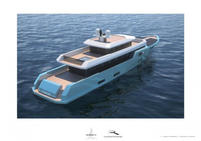 Motor yacht Project Ganto The First Electric Superyacht - by Floating life (